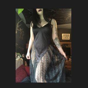 Vintage Lacy Lingerie Dress